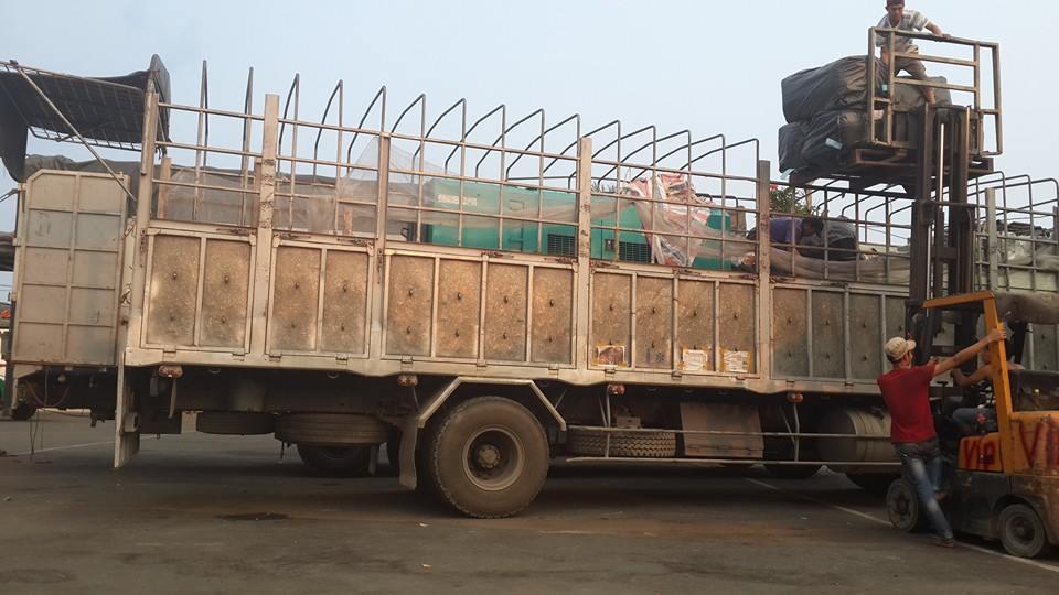 xe tải tại chành xe đi Hưng Yên